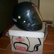 Collectionnisme sportif: CASCO CLIMAX DE COLECCION. RARE COLLECTION HELMET. PERE NOGUES. PILOTO RACC. SASPA. F1!! NO FANGIO. Lote 26131684