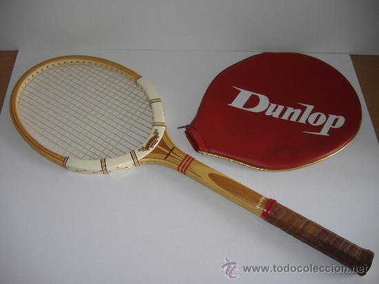 Raqueta de tenis en madera marca dunlop maxply - Vendido en Venta ... 4c19238525040