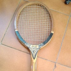 Coleccionismo deportivo: RAQUETA TENIS DE MADERA. Lote 26338439