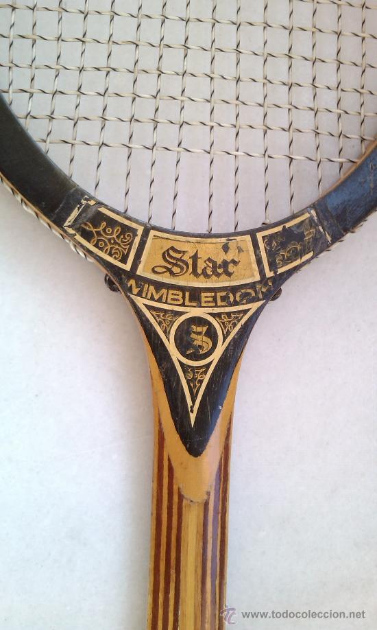 Coleccionismo deportivo: RAQUETA TENIS DE MADERA - Foto 2 - 26338439
