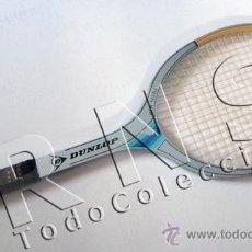Coleccionismo deportivo: ANTIGUA RAQUETA DUNLOP FIESTA-MID DE MADERA TENIS MATERIAL DEPORTIVO -MÁS RAQUETAS VENTAVINTAGE. Lote 31950235