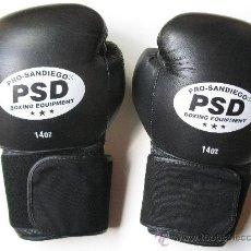 Coleccionismo deportivo: GUANTES DE BOXEO - PRO-SAN DIEGO - PSD - BOXING EQUIPMENT - 14 ONZAS.. Lote 32116004