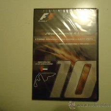Coleccionismo deportivo: DVD:CAMPEONATO DE FORMULA 1-FIA:2010. Lote 34174113