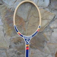 Coleccionismo deportivo: RAQUETA DE TENIS SLAZENGER AÑOS 60 - 70. Lote 34295940