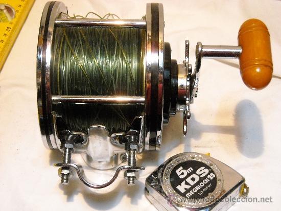 Coleccionismo deportivo: CARRETE SENATOR PENN FISHING TACKLE MFG Co. IMPECABLE. - Foto 4 - 35596772