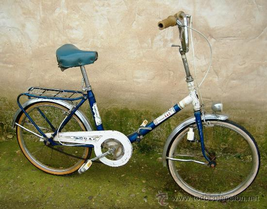Bicicleta plegable gac antigua finales a os 70 comprar - La bici azul ...