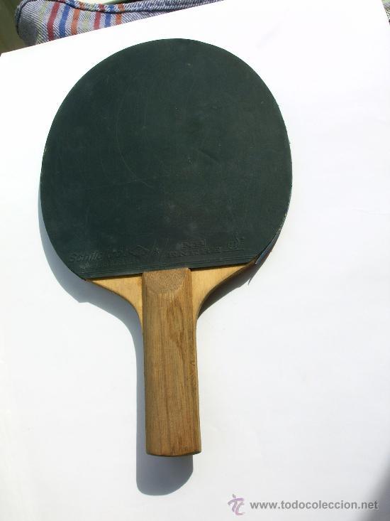 Coleccionismo deportivo: PALETA O RAQUETA DE PIN PON - Foto 2 - 36546558