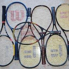 Coleccionismo deportivo: RAQUETA DE TENIS 7 RAQUETAS DE TENIS. Lote 36863093