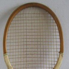 Collectionnisme sportif: ANTIGUA RAQUETA DE TENIS STROKEMASTER, GRAYS OF CAMBRIDGE, DE MADERA, SIN TENSADOR (69CM APROX). Lote 37497030