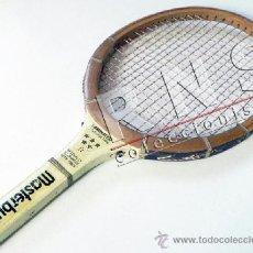 Coleccionismo deportivo: ANTIGUA RAQUETA DE MADERA MASTERBUILT - TENIS DEPORTE VINTAGE RETRO ¿AÑOS 70 ? MÁS RAQUETAS EN VENTA. Lote 38448112