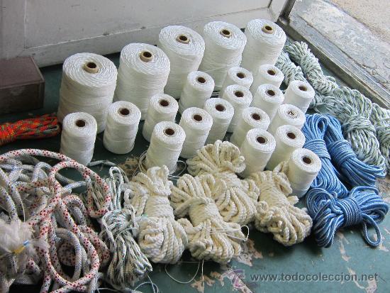 37 Madejas De Hilo Para Redes De Pesca Comprar En Todocoleccion 38745722