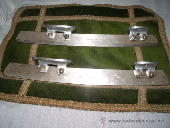 Coleccionismo deportivo: cuchillas patinaje sobre hielo () - Foto 2 - 38765642
