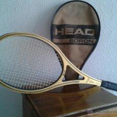Coleccionismo deportivo: RAQUETA DE TENIS-HEAD BORON-ARTHUR ASHE-AÑOS 80. Lote 39464188