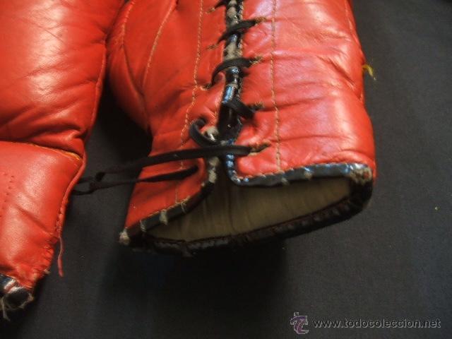 Coleccionismo deportivo: GUANTES DE BOXEO COLOR ROJO - 14 ONZAS - - Foto 9 - 40086186