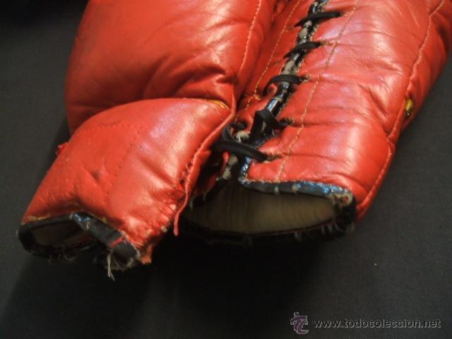 Coleccionismo deportivo: GUANTES DE BOXEO COLOR ROJO - 14 ONZAS - - Foto 10 - 40086186