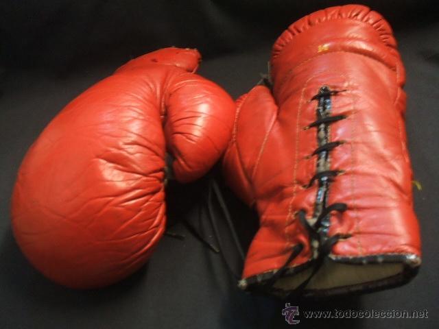 Coleccionismo deportivo: GUANTES DE BOXEO COLOR ROJO - 14 ONZAS - - Foto 11 - 40086186