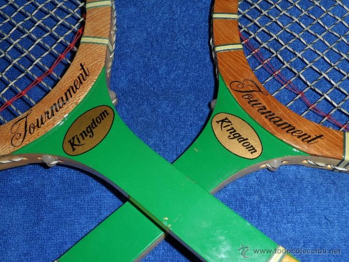 Coleccionismo deportivo: Raquetas de Tenis Vintage - Tournament Kingdom (Años 70) - Foto 2 - 40433706