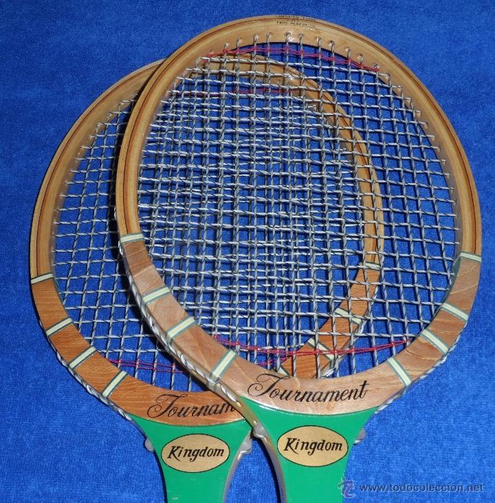 Coleccionismo deportivo: Raquetas de Tenis Vintage - Tournament Kingdom (Años 70) - Foto 7 - 40433706