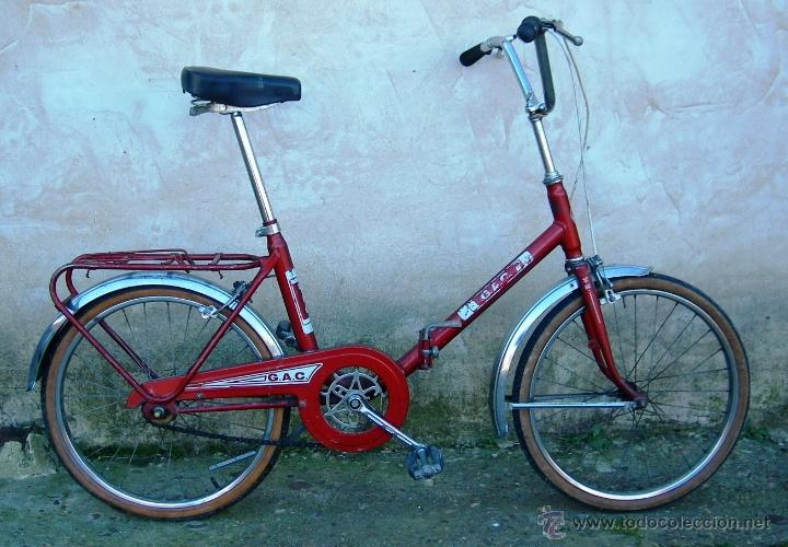 Bicicleta plegable gac granate antigua finales comprar - La bici azul ...