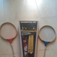 Coleccionismo deportivo: SET DE BADMINTON CON 6 RAQUETAS - GOLY. Lote 41475289