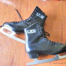 Coleccionismo deportivo: PATINES HIELO LICO ICE CROWN MADE IN WEST GERMANY HECHOS EN ALEMANIA. Lote 41610727