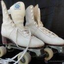 Coleccionismo deportivo: PATINES DE RUEDAS CON BOTAS.. Lote 42543721