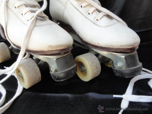 Coleccionismo deportivo: PATINES DE RUEDAS CON BOTAS. - Foto 5 - 42543721
