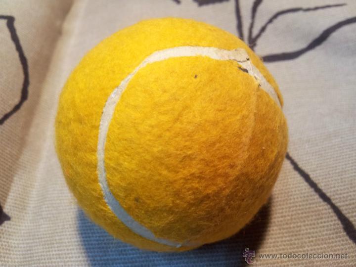 Coleccionismo deportivo: antigua pelota tenis año 72.. - Foto 3 - 42761987