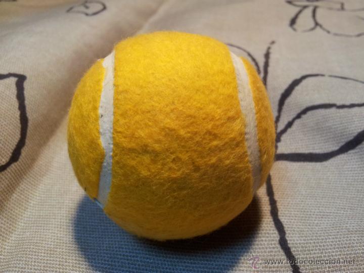Coleccionismo deportivo: antigua pelota tenis año 72.. - Foto 4 - 42761987