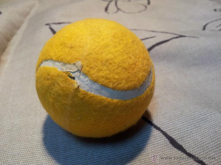 Coleccionismo deportivo: antigua pelota tenis año 72.. - Foto 5 - 42761987