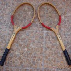 Coleccionismo deportivo: PAREJA DE RAQUETAS DE TENIS. MARCA IKATSUE. AÑOS 60. Lote 44124856