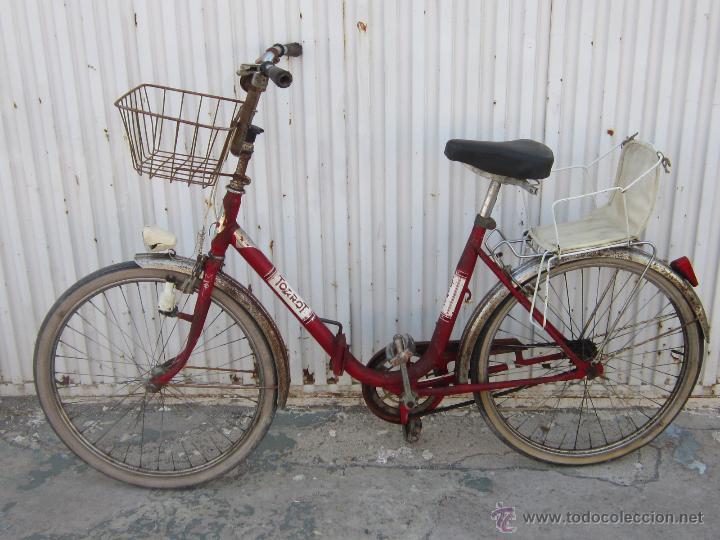 Coleccionismo deportivo: BICICLETA TORROT PLEGABLE DE PASEO - AÑOS 70 - - Foto 6 - 45071727