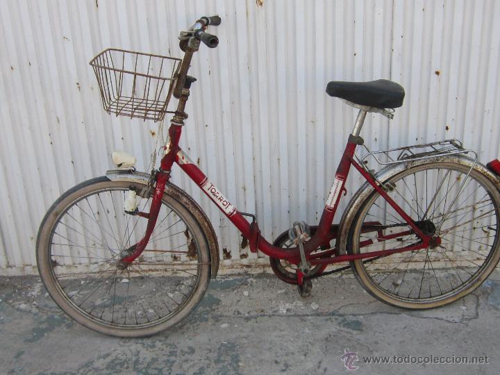 Coleccionismo deportivo: BICICLETA TORROT PLEGABLE DE PASEO - AÑOS 70 - - Foto 8 - 45071727