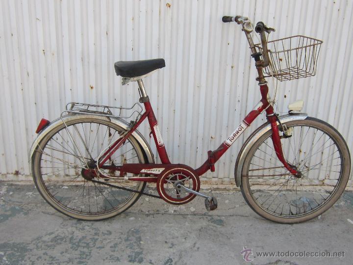 Coleccionismo deportivo: BICICLETA TORROT PLEGABLE DE PASEO - AÑOS 70 - - Foto 10 - 45071727