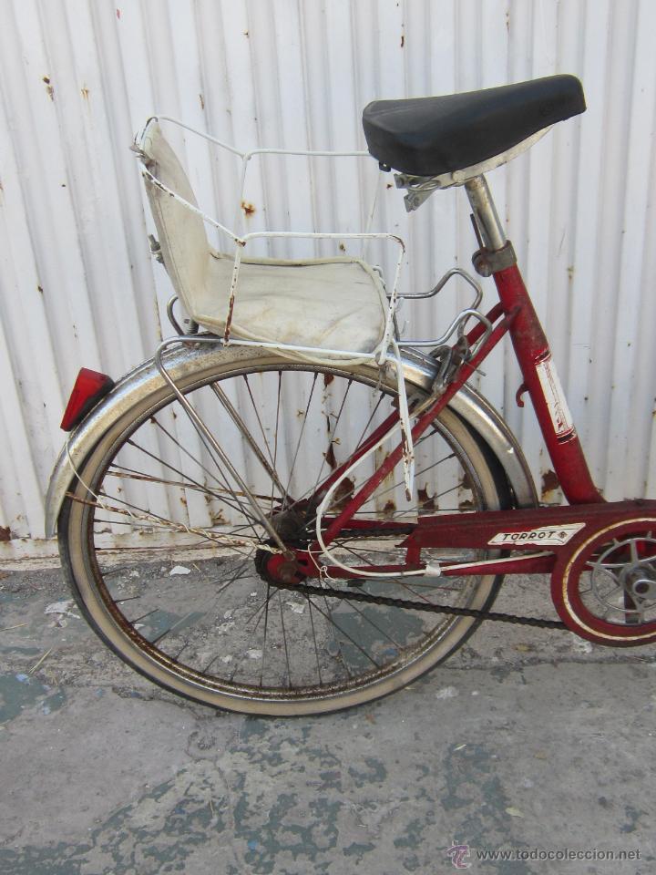 Coleccionismo deportivo: BICICLETA TORROT PLEGABLE DE PASEO - AÑOS 70 - - Foto 11 - 45071727