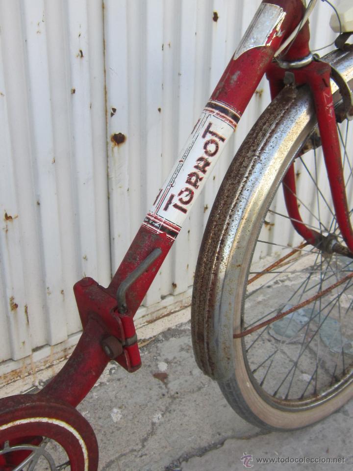Coleccionismo deportivo: BICICLETA TORROT PLEGABLE DE PASEO - AÑOS 70 - - Foto 13 - 45071727