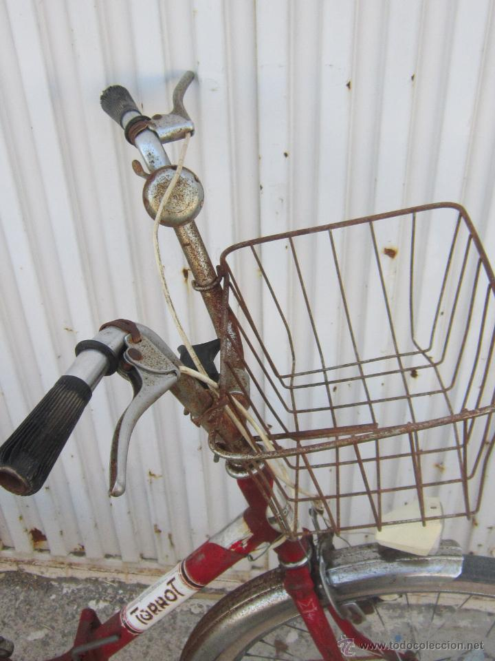 Coleccionismo deportivo: BICICLETA TORROT PLEGABLE DE PASEO - AÑOS 70 - - Foto 14 - 45071727