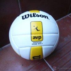 Coleccionismo deportivo: BALÓN DE VOLEIBOL WILSON AVP GAME. Lote 47598833
