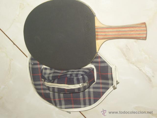 Coleccionismo deportivo: PING PONG.RAQUETA O PALA DE PING PONG MARCA SCHILDKROL 2 ESTRELLAS,CON SU FUNDA. - Foto 3 - 47603381