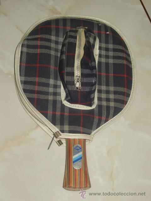 Coleccionismo deportivo: PING PONG.RAQUETA O PALA DE PING PONG MARCA SCHILDKROL 2 ESTRELLAS,CON SU FUNDA. - Foto 11 - 47603381