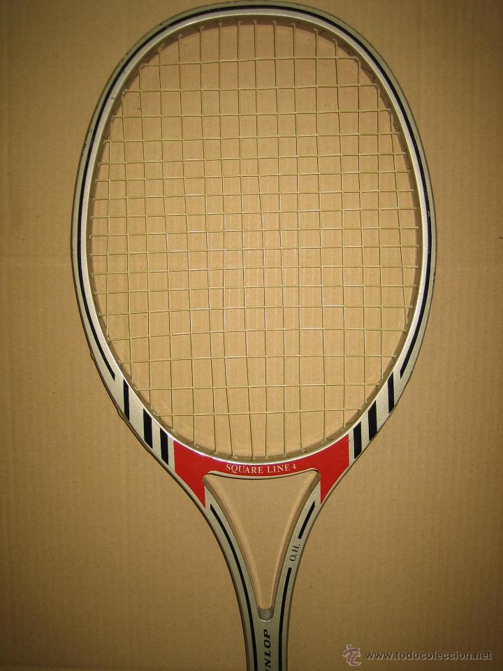 Coleccionismo deportivo: Raqueta de tenis Dunlop - Foto 2 - 49244365