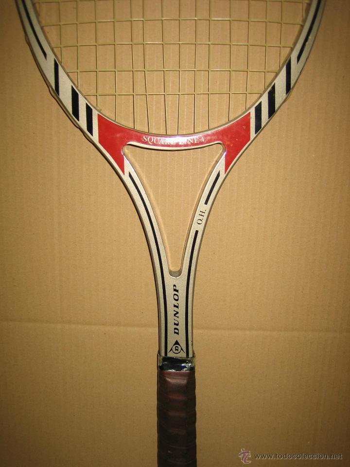 Coleccionismo deportivo: Raqueta de tenis Dunlop - Foto 3 - 49244365