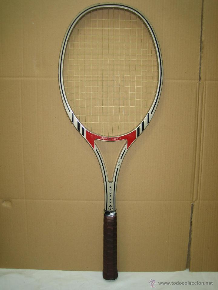 Coleccionismo deportivo: Raqueta de tenis Dunlop - Foto 4 - 49244365