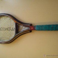 Coleccionismo deportivo: RAQUETA BOOMERANG + FUNDA. Lote 50859075