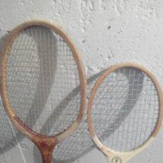 Coleccionismo deportivo: RAQUETAS TENIS ANTIGUAS LOTE 2. Lote 52355206
