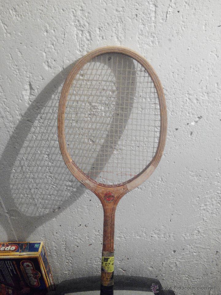 Coleccionismo deportivo: raquetas tenis antiguas lote 2 - Foto 2 - 52355206