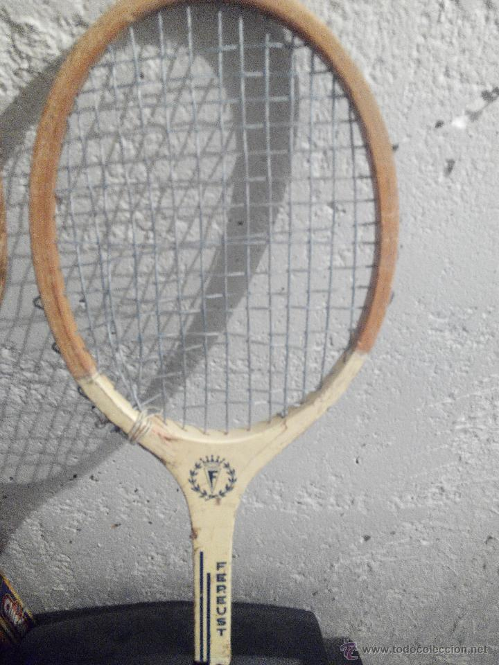 Coleccionismo deportivo: raquetas tenis antiguas lote 2 - Foto 3 - 52355206