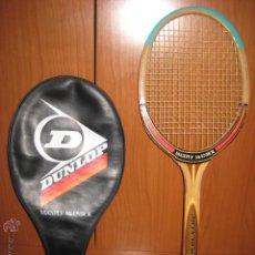 Coleccionismo deportivo: RAQUETA DE TENIS DE MADERA DUNLOP MODELO MAXPLY MCENROE. Lote 52633141