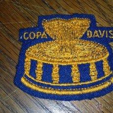 Coleccionismo deportivo: PARCHE BORDADO DE LA COPA DAVIS DE TENIS. Lote 53322668