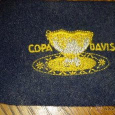 Coleccionismo deportivo: PARCHE BORDADO DE LA COPA DAVIS DE TENIS. Lote 53322683